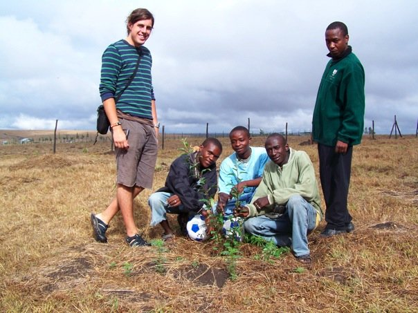 Tree planting in 2007