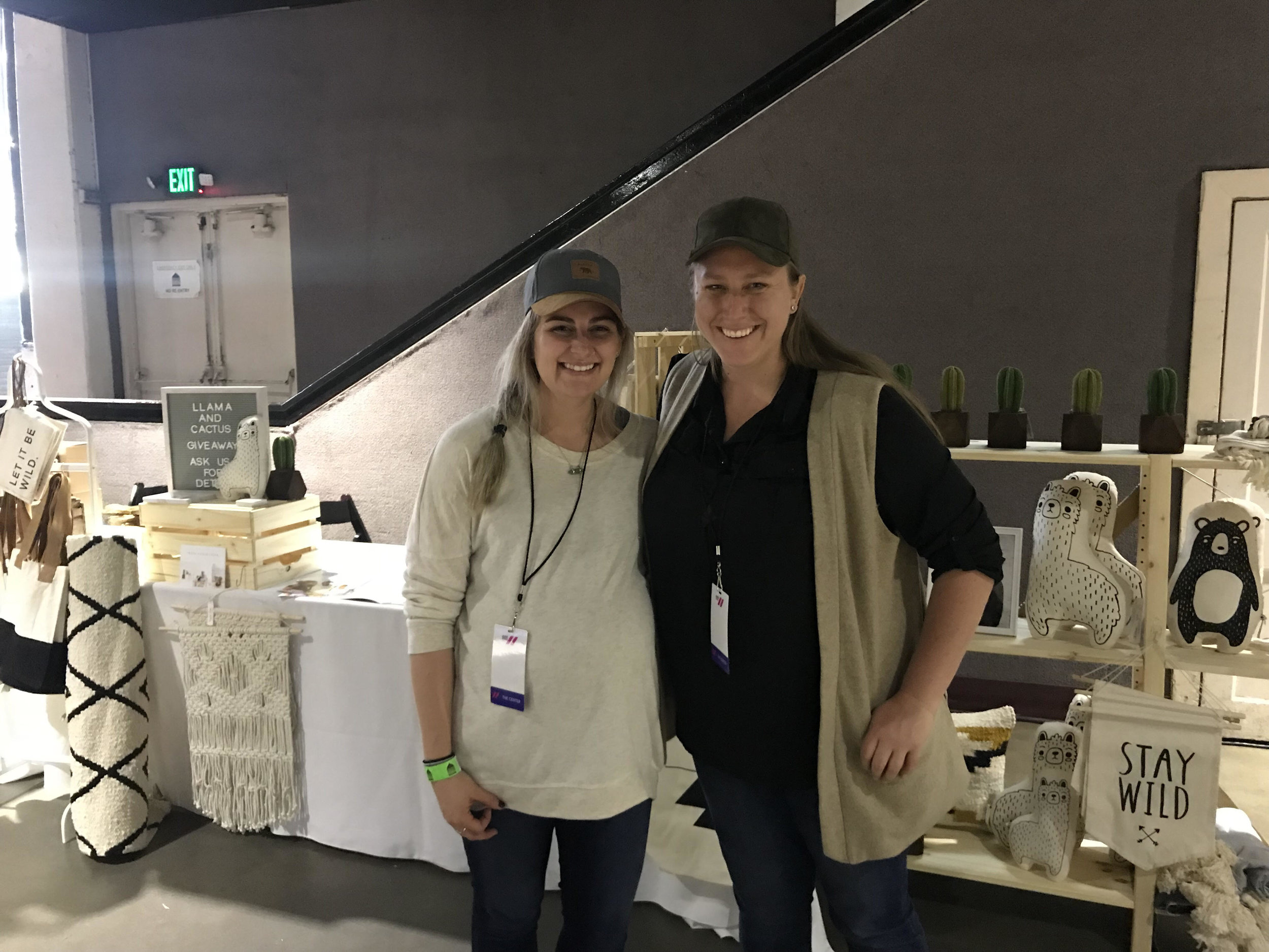 Jenny and Jenne at the USOW 2018 Summit in Los Angeles CA