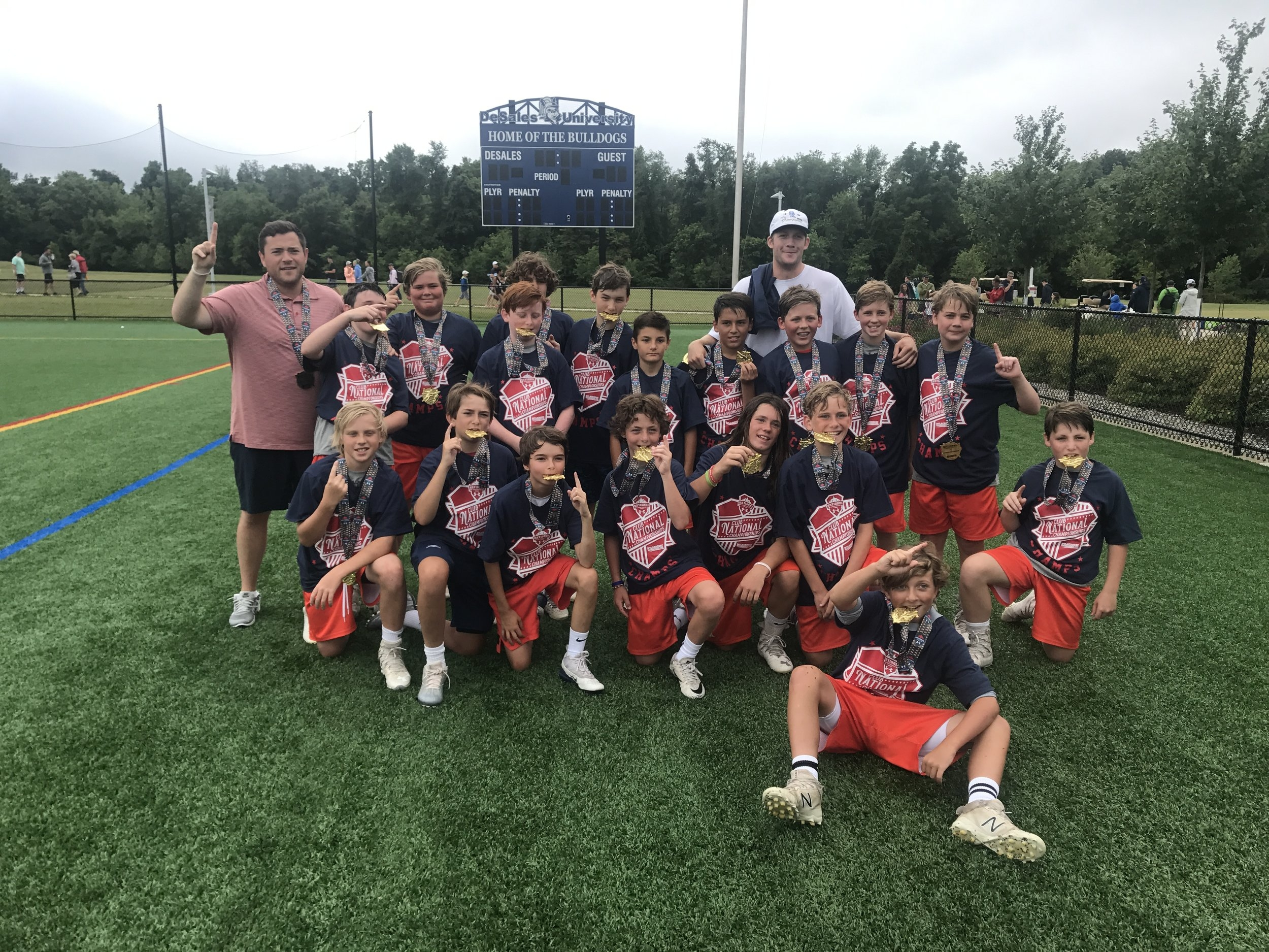 2024A Team - NLF National Champions - Summer 2018