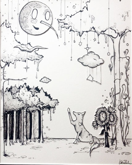 The Woods Dripped with Whimsy
