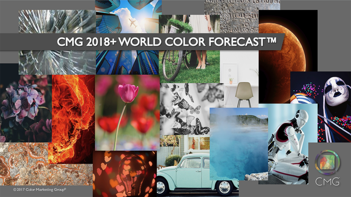 CMG's 2018+ World Color Forecast™ presented by Sandy Sampson, Simple Modern Style
