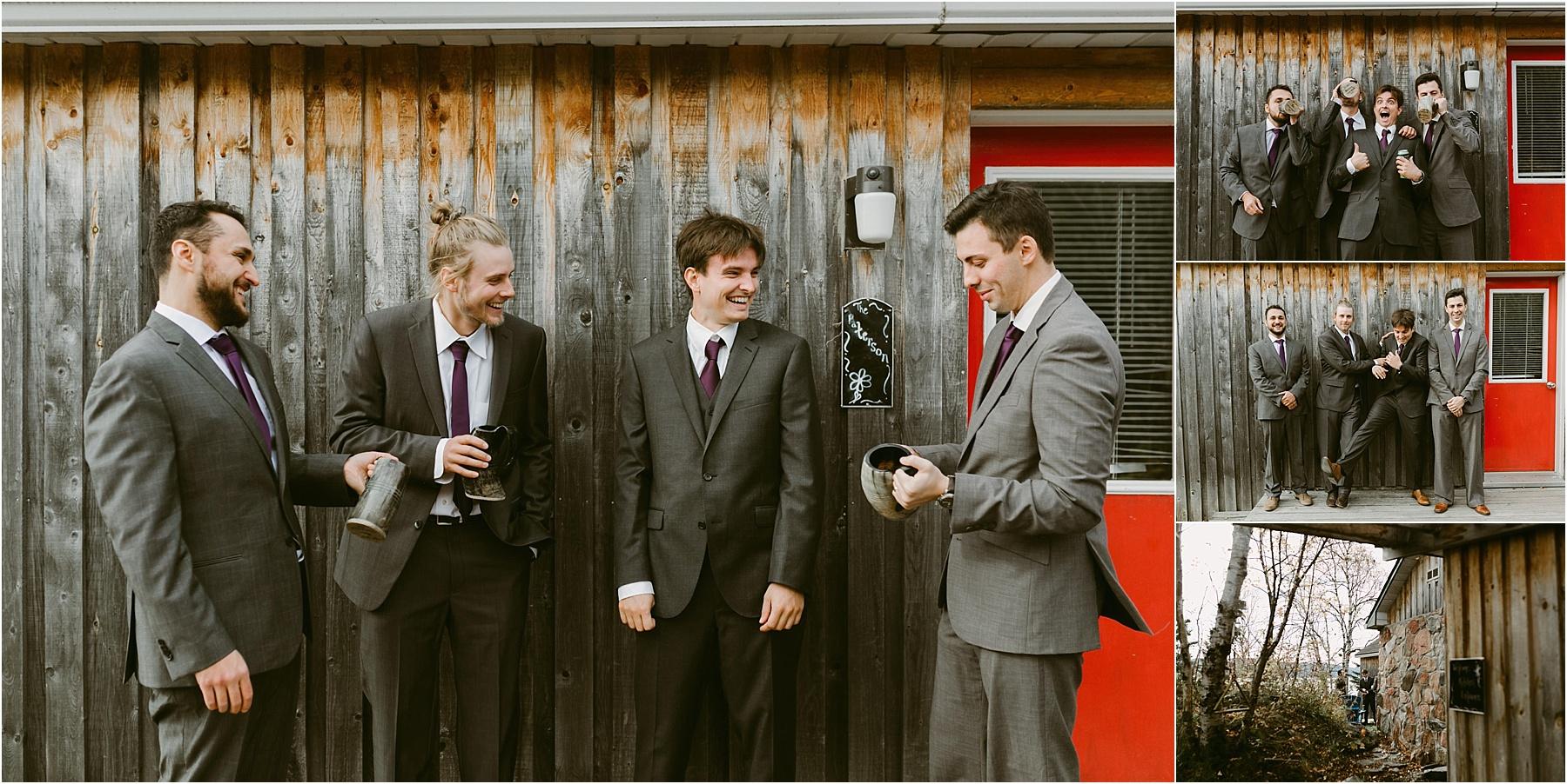 Cottage Wedding Northern Ontario - Rock Island Lodge - Northern Wildflower 29.jpg