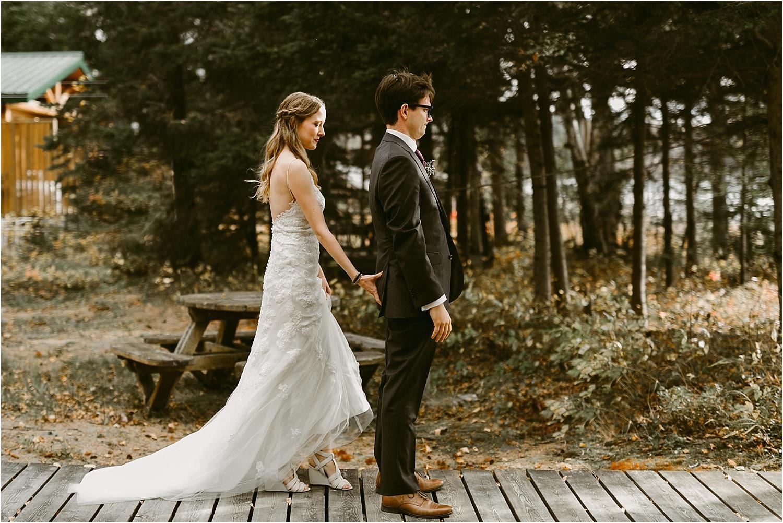Cottage Wedding Northern Ontario - Rock Island Lodge - Northern Wildflower 65.jpg
