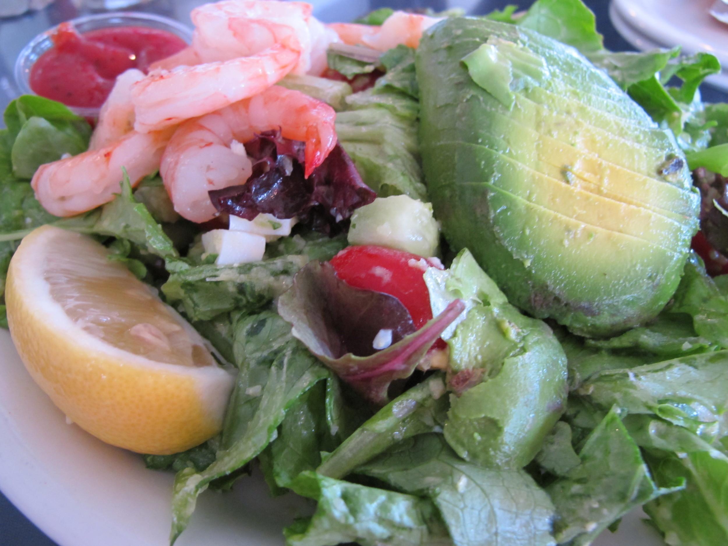 Brophy's Shrimp and Avocado Salad