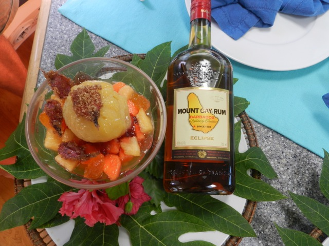1st Place Tie in Deserts and Best Overall Dish Using Caribbean Ingredients - Chef Angie Laurie, Yacht Secret Oasis