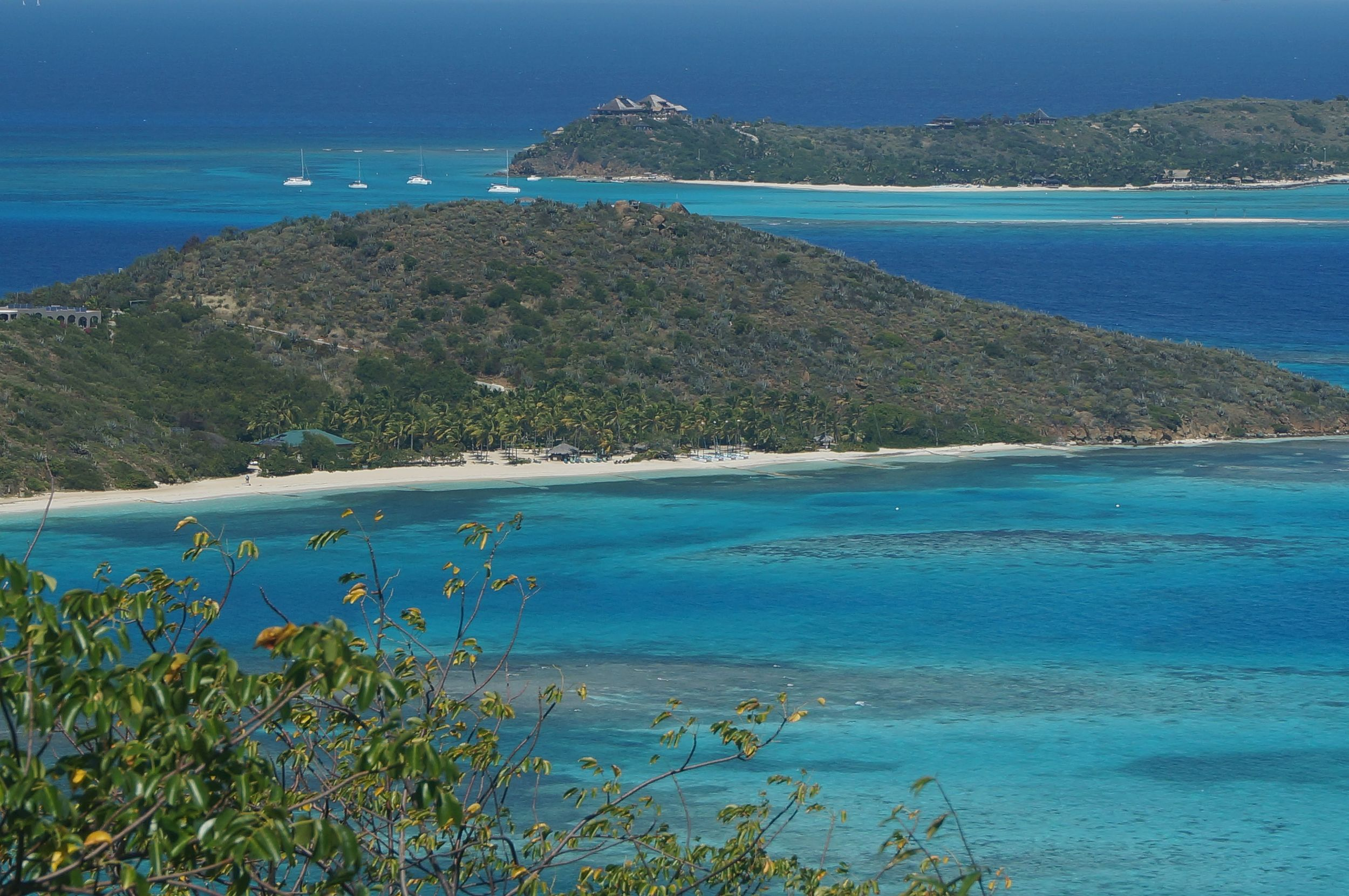 Eustatia Island and Necker Island in the background