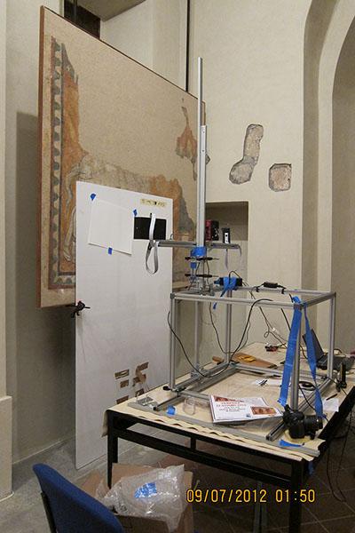 Fresco Imaging in Italy
