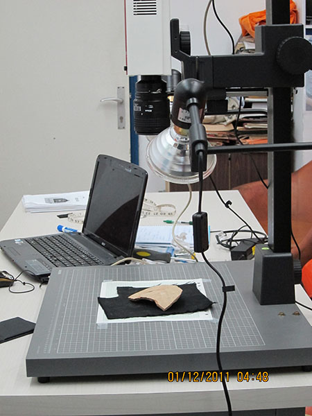 Another view of ostracon imaging