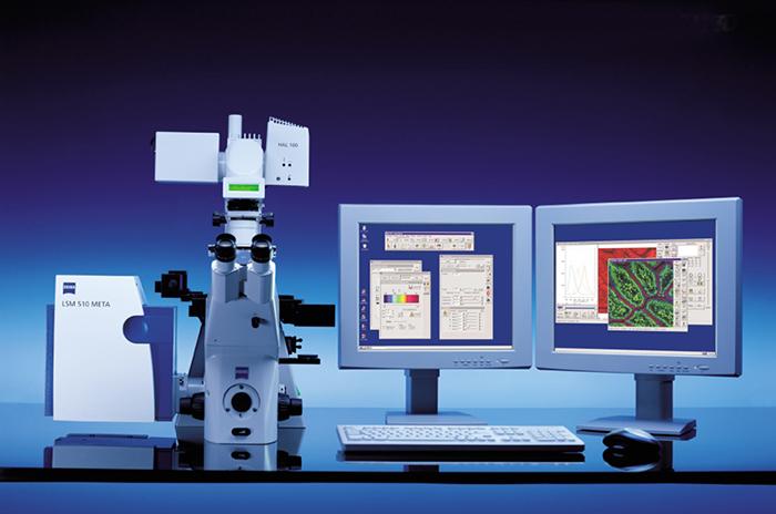 Zeiss META spectral imaging confocal microscope