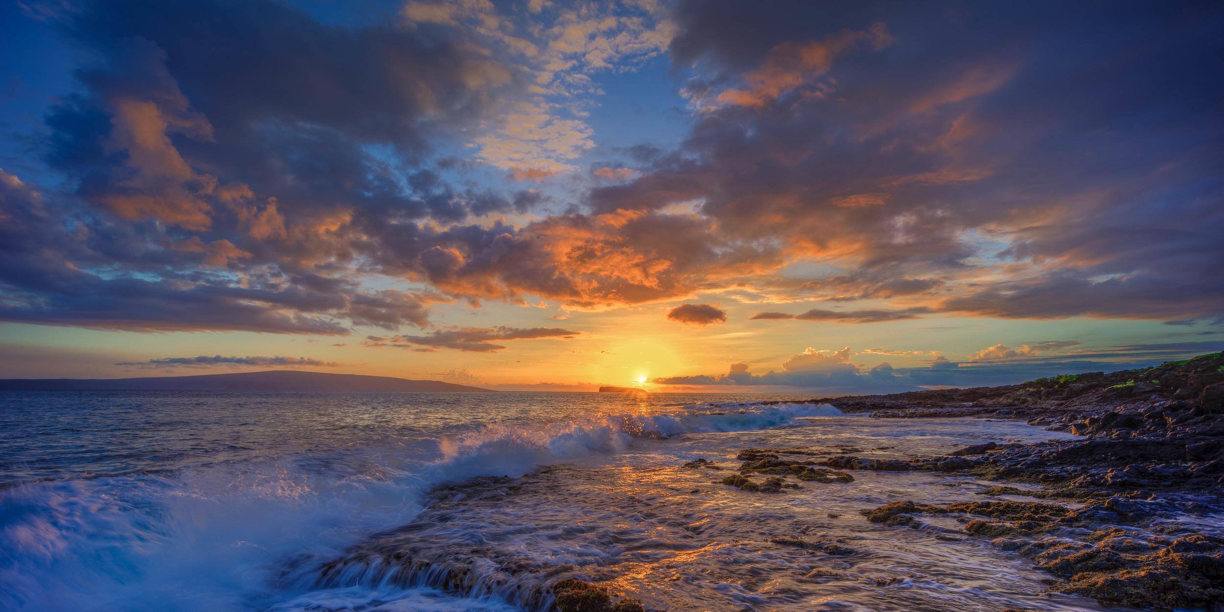 Big Beach Sunset