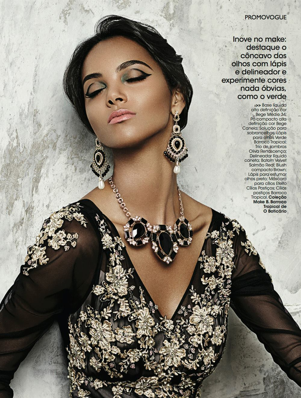 Maquiagem Gráfica Vogue Brasil Suelen Johann