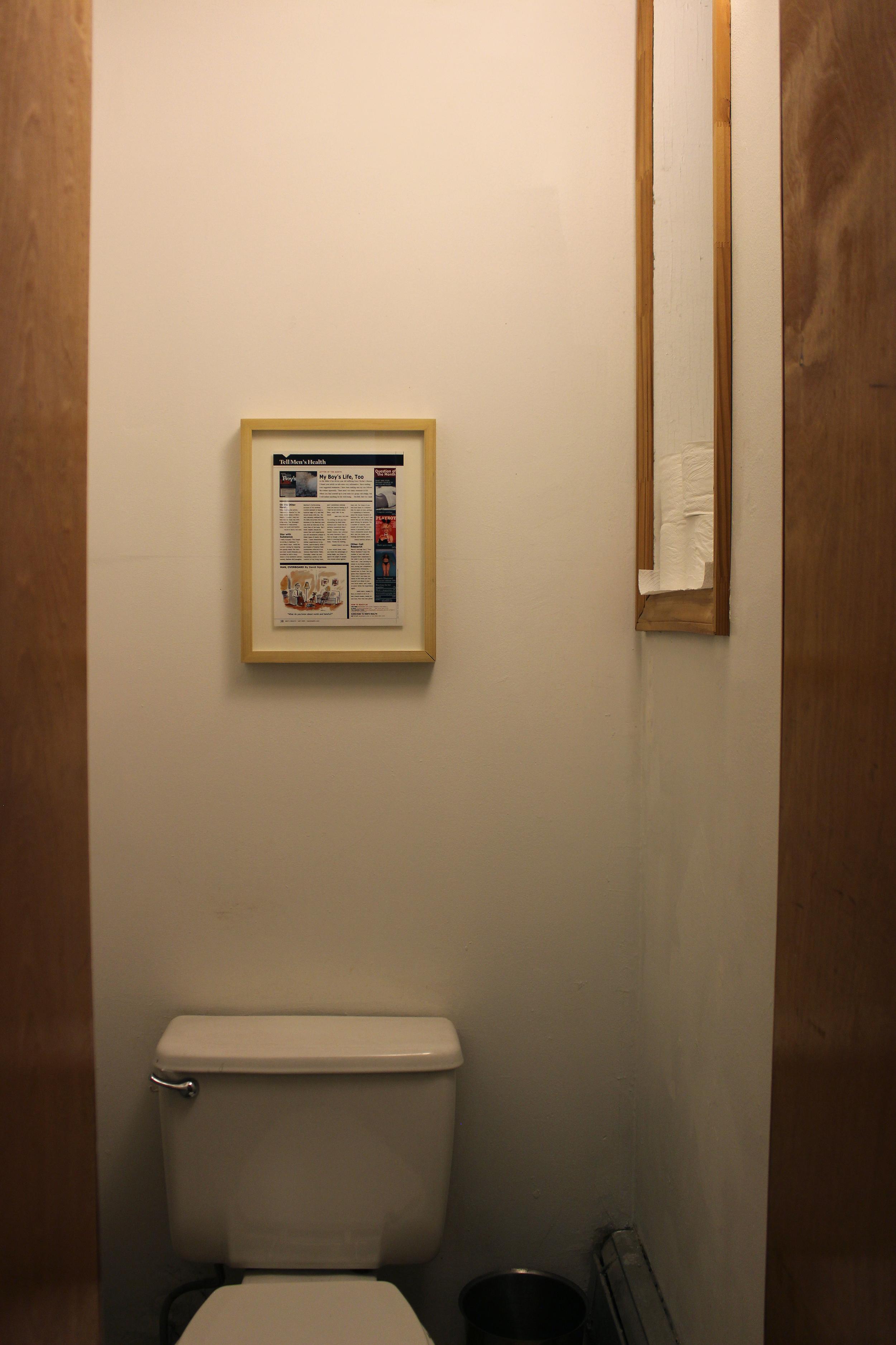 "Aaron Steffes,  Tell Men's Health , 2006, inkjet print, 8.25"" x 11"""