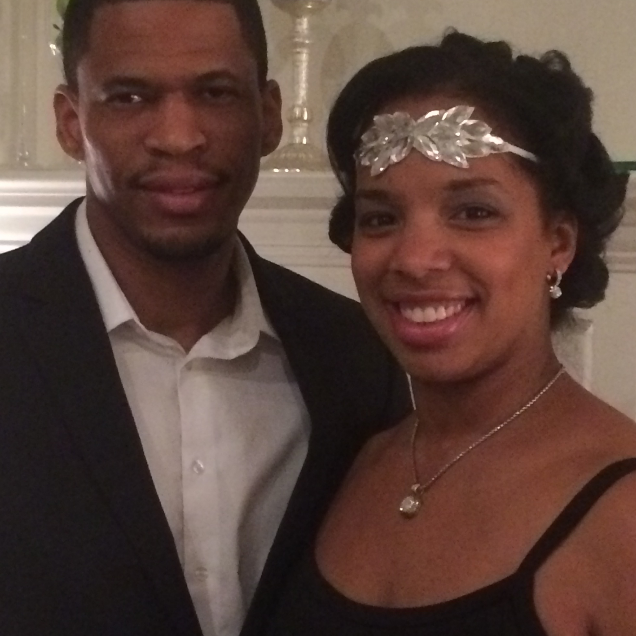 The Hubs and I before the Gala