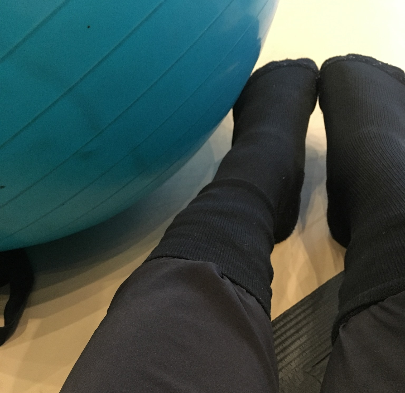 Wearing my Apolla INFINITE Shocks at a 2017 Progressing Ballet Technique™ Workshop