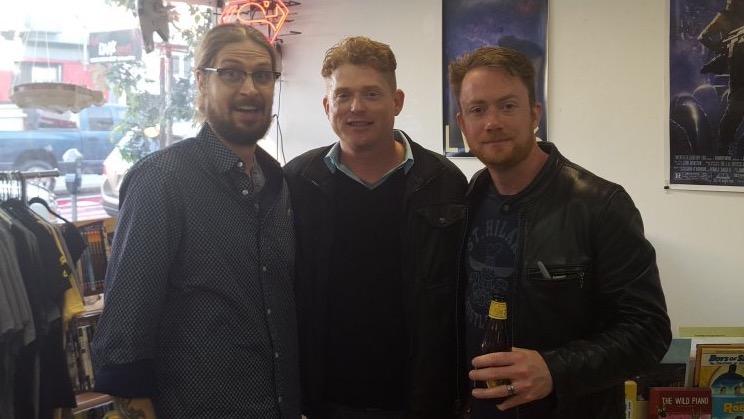 THE RATTLERS; Greg Hinkle, Joel Enos and Jason McNamara.