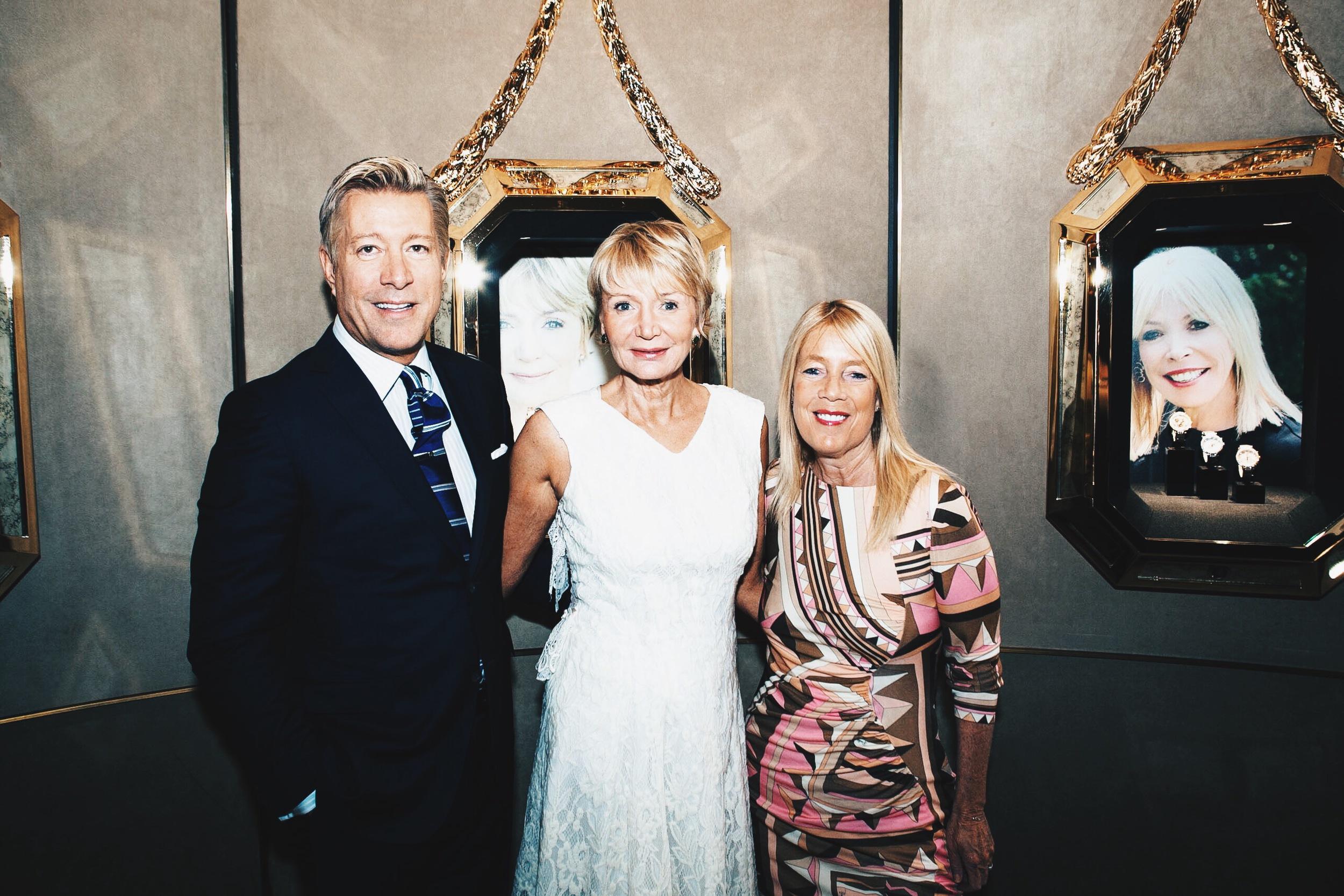Kirk Nix, Shelley Reid (altruist), Lilly Bosse (Mayer of Beverly Hills)