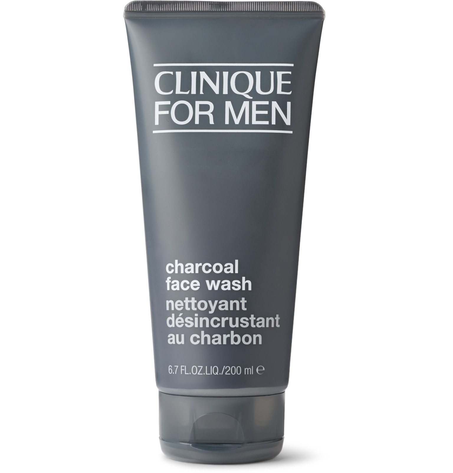 Clinique For Men Charcoal Face Wash - A perfect everyday cleanser that's foamy, can clear up blemishes and reduces the oiliness on your face. ($20, clinique.com)
