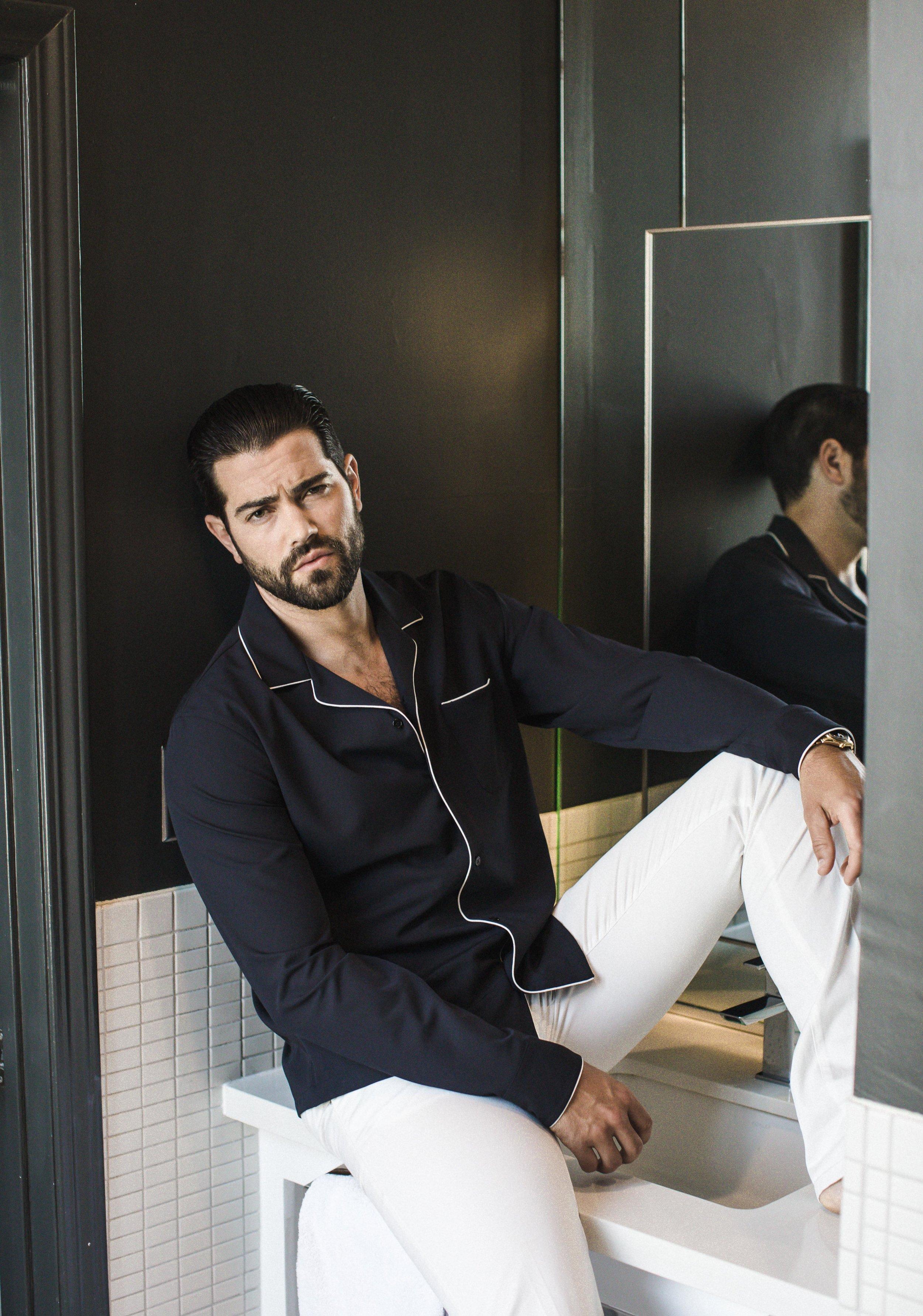Sandro Paris    shirt and pants