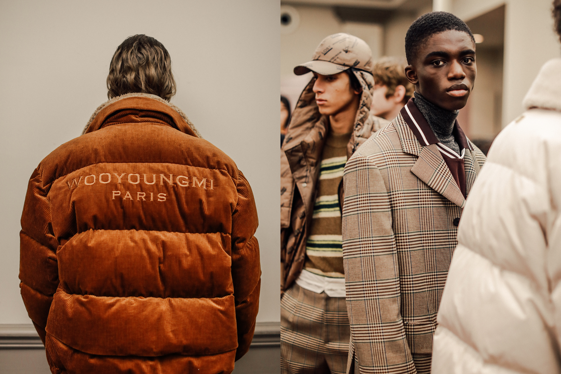 BACKSTAGE AT WOOYOUNGMI FALL/WINTER 2019 SHOW - MORE →