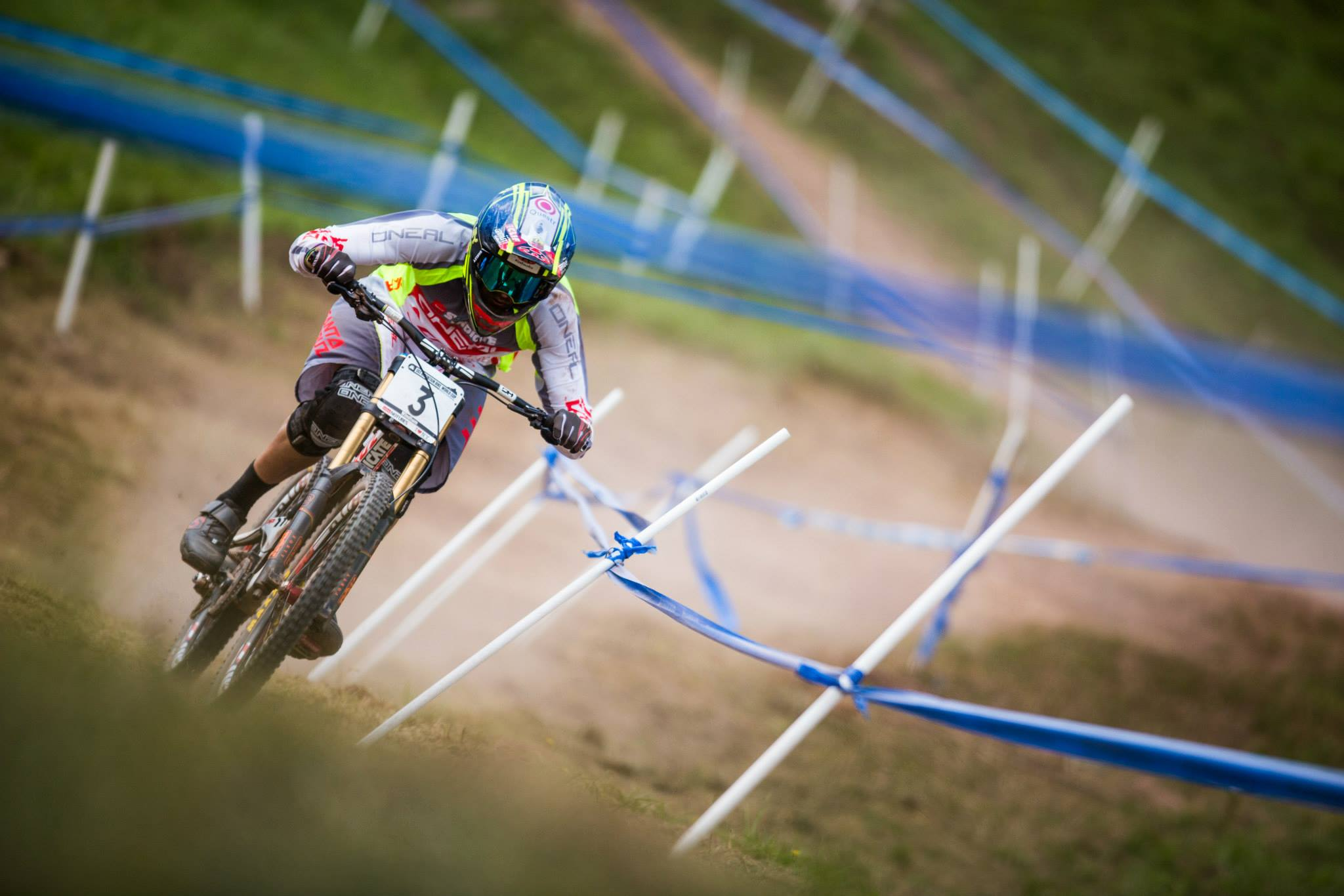 Santa Cruz Syndicate rider and three-times World Champion, Greg Minnaar, continues to make South Africa proud with his season's success so far, and is ready to take on the final round of the UCI DHI World Cup Final in Italy next month. Photo credit: UCI MTB World Cup https://www.facebook.com/UCIMTBworldcup/photos