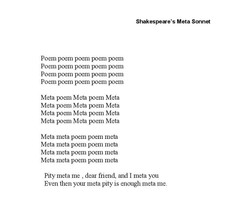 Shakespeare Meta Sonnet - Paul Strohm