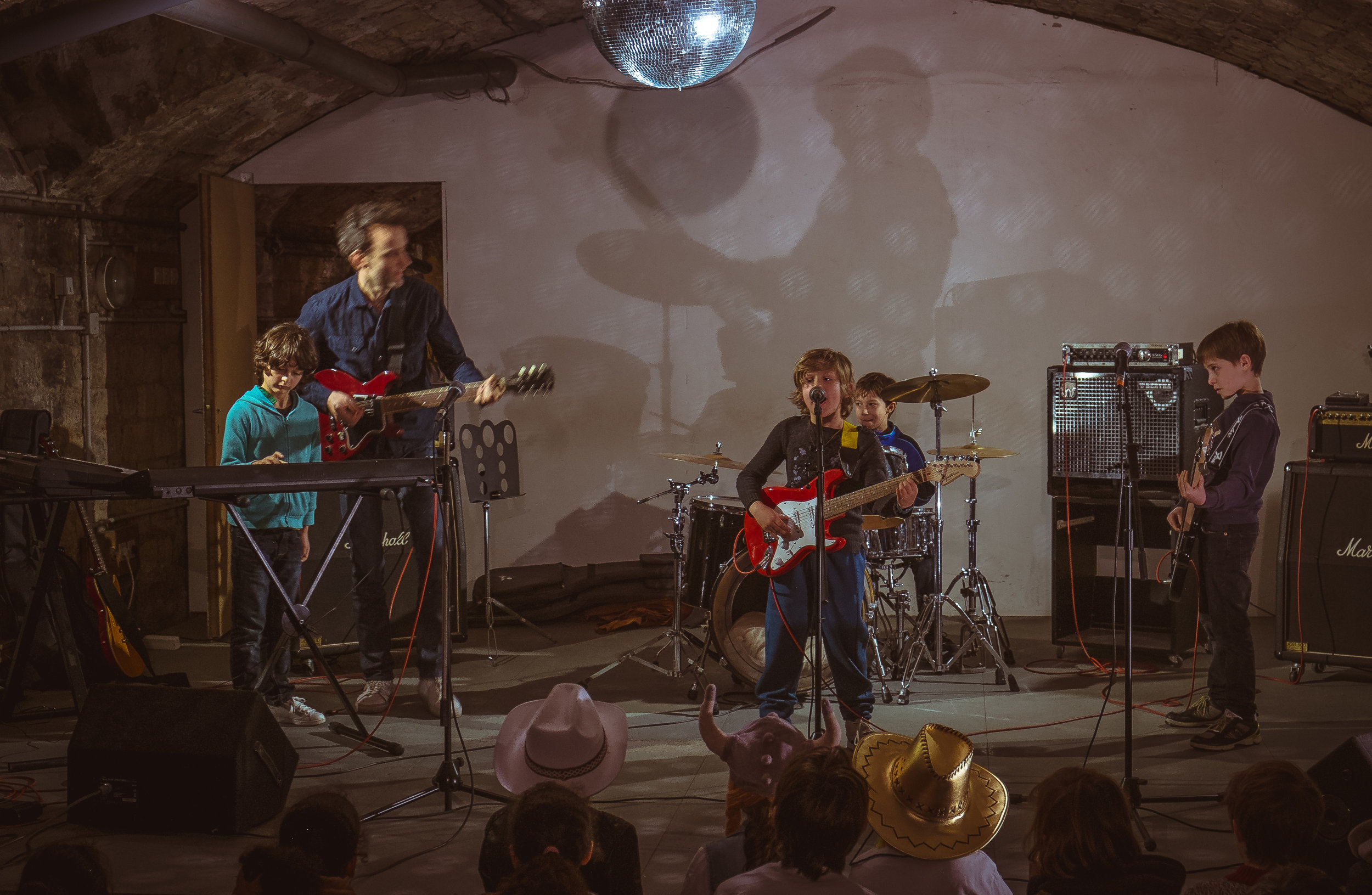 Paris Bandmates Beginner Program Kids Band