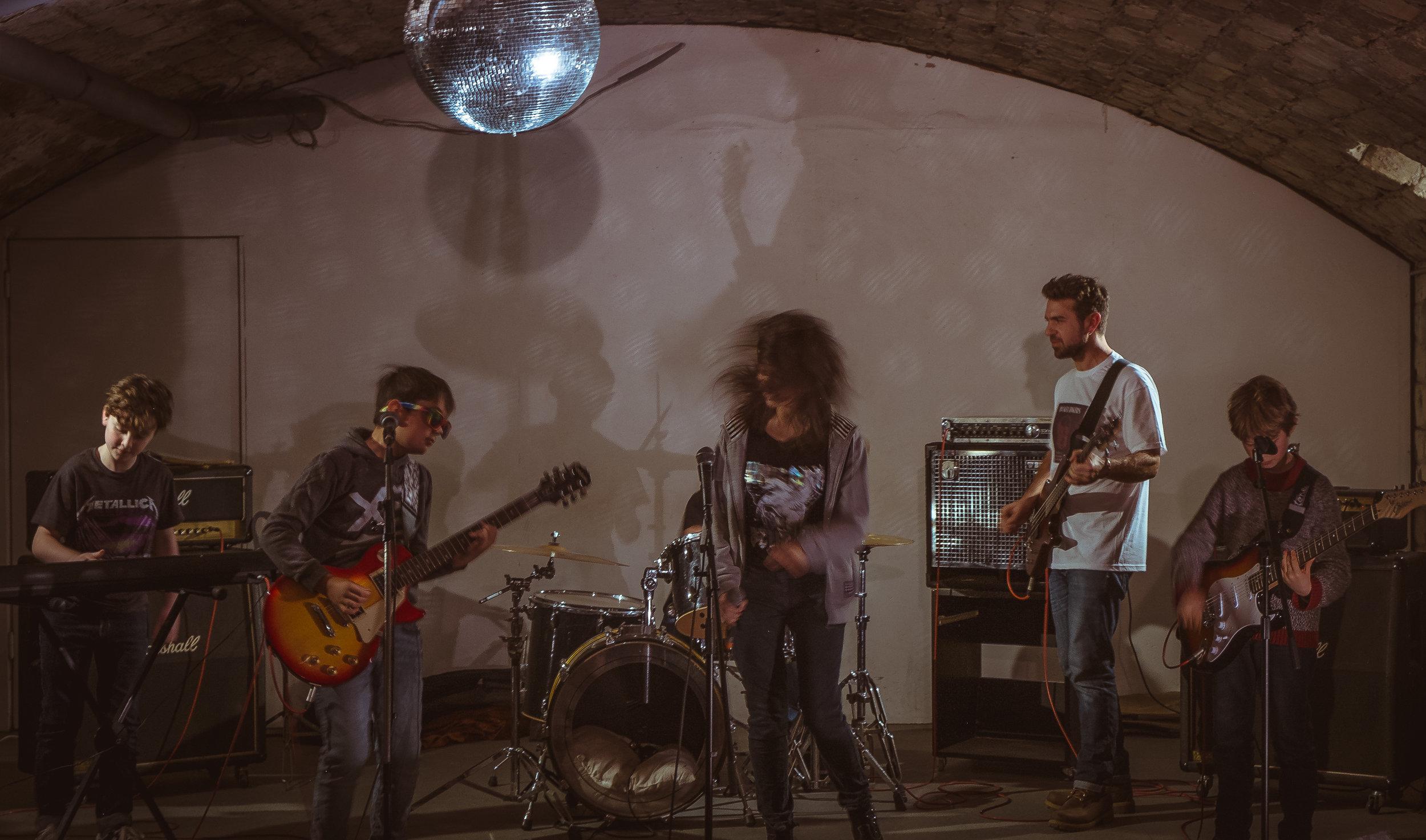 Paris Bandmates Beginner Program Performance