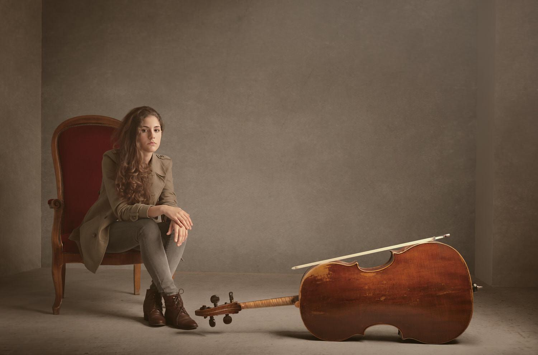 צילום פורטרט למוזיקאם - טרטזה בלדי