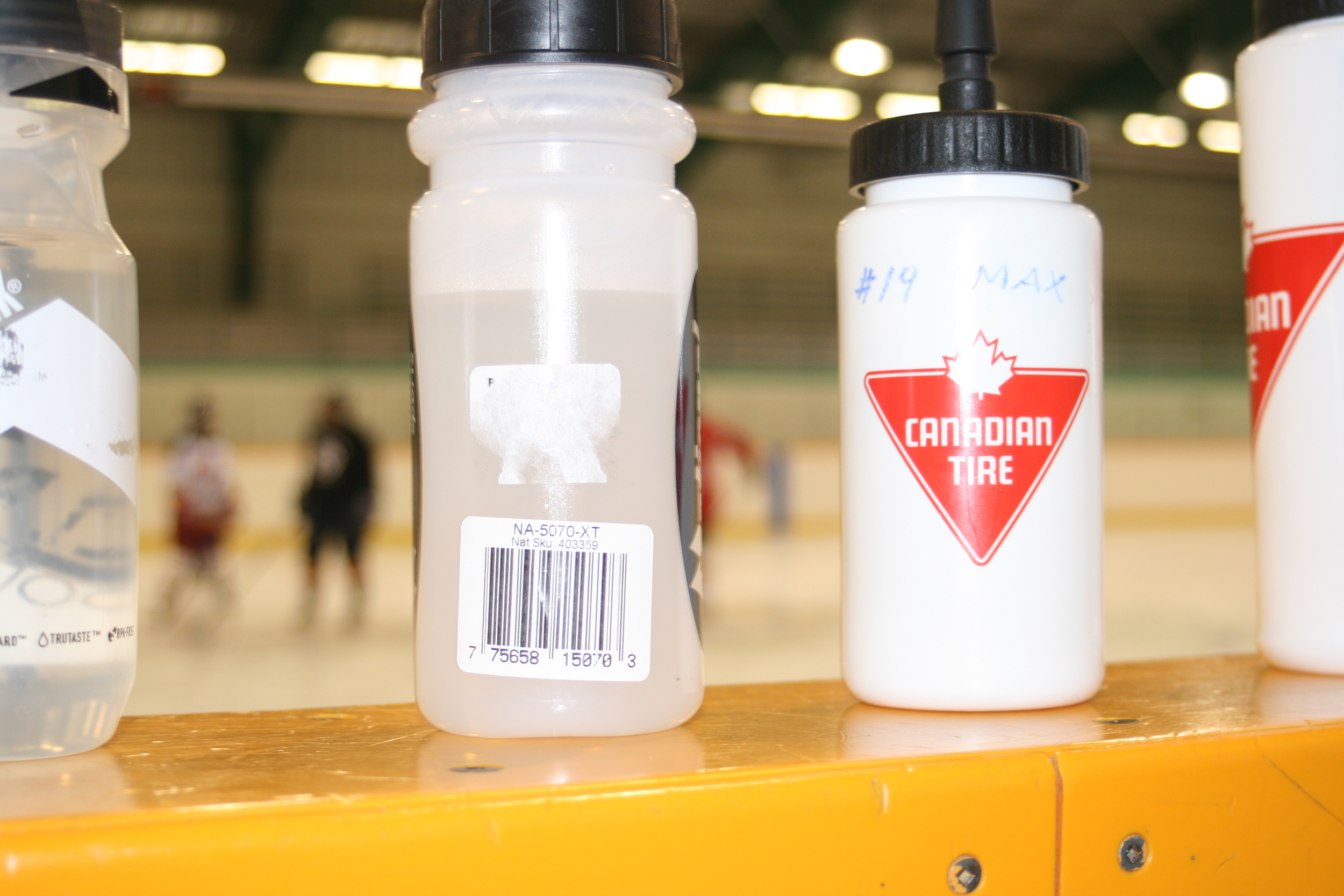 Drink all that your hockey session provides for you
