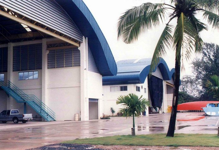 CONCORDIA SHIPYARD Rayong, Thailand- 25,000 M2 - Designed & Built by Andy J.J. Pitt in 1999/2000