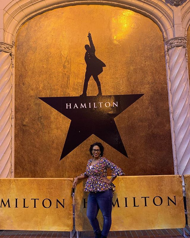 Hey look second showing of Hamilton!! The show was so good the first time I have to see it again #theroomwhereithappens #andpeggytour #hamilton #hamiltonmusical #sanfrancisco #fun #yes