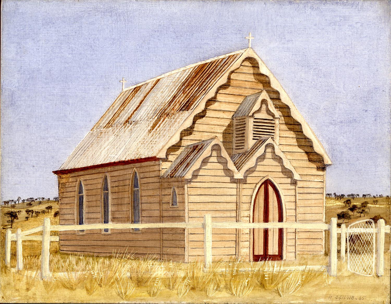 'Church, Colloroy Station'