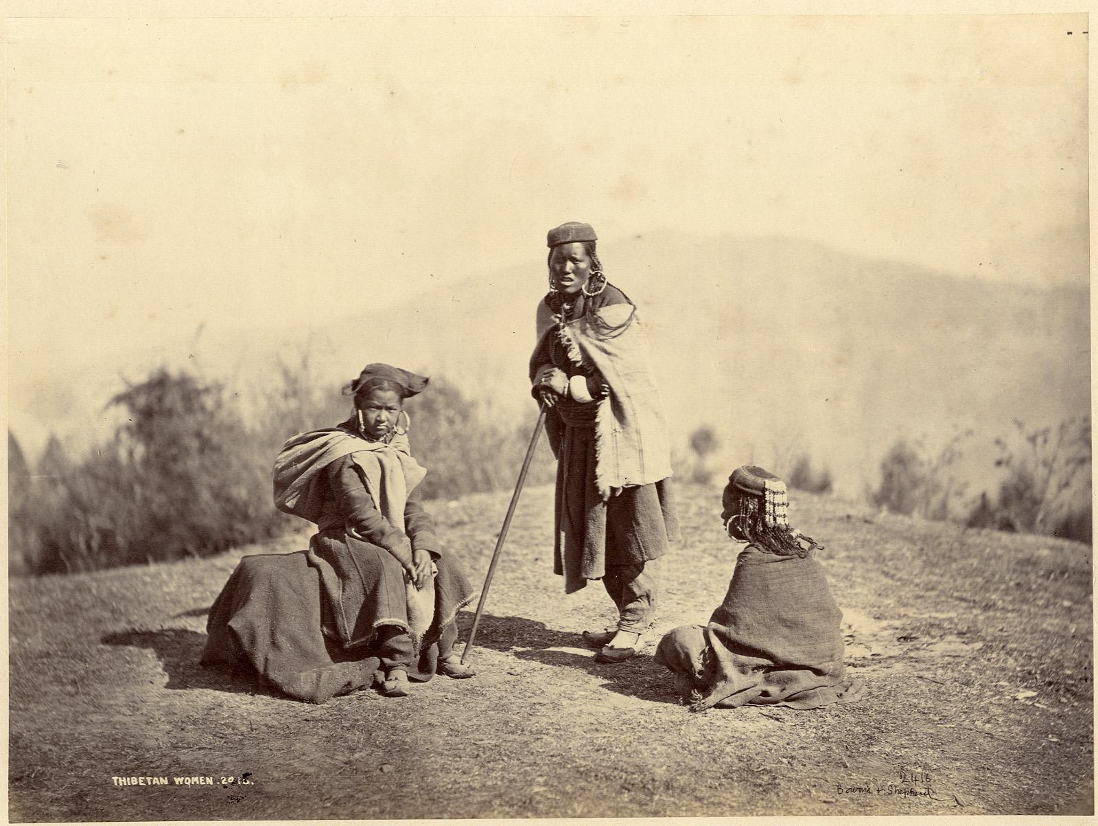Bourne & Shepherd  Thibetan Women