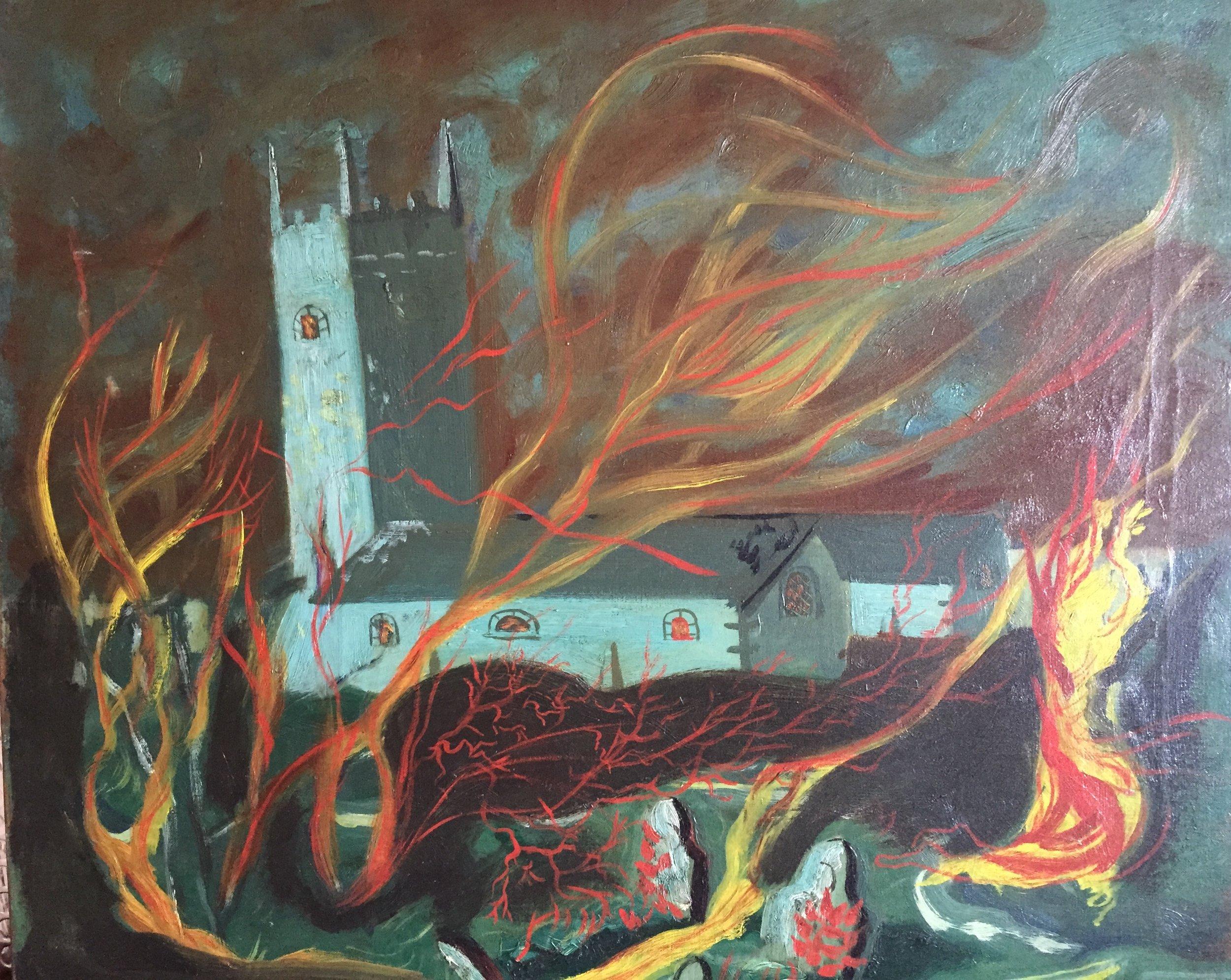Maeve Gilmore  Burning Church