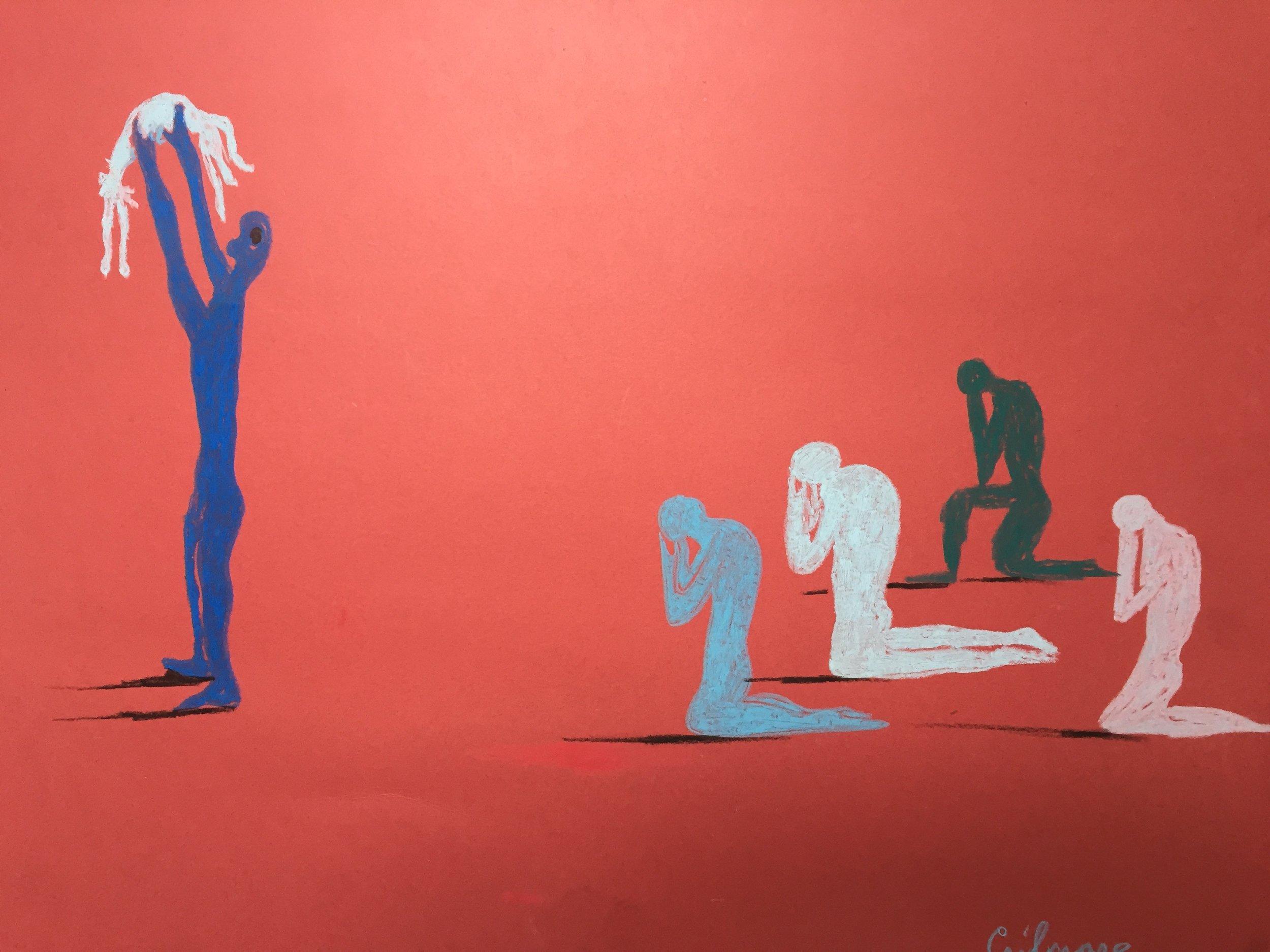 Maeve Gilmore  Kneeling figures