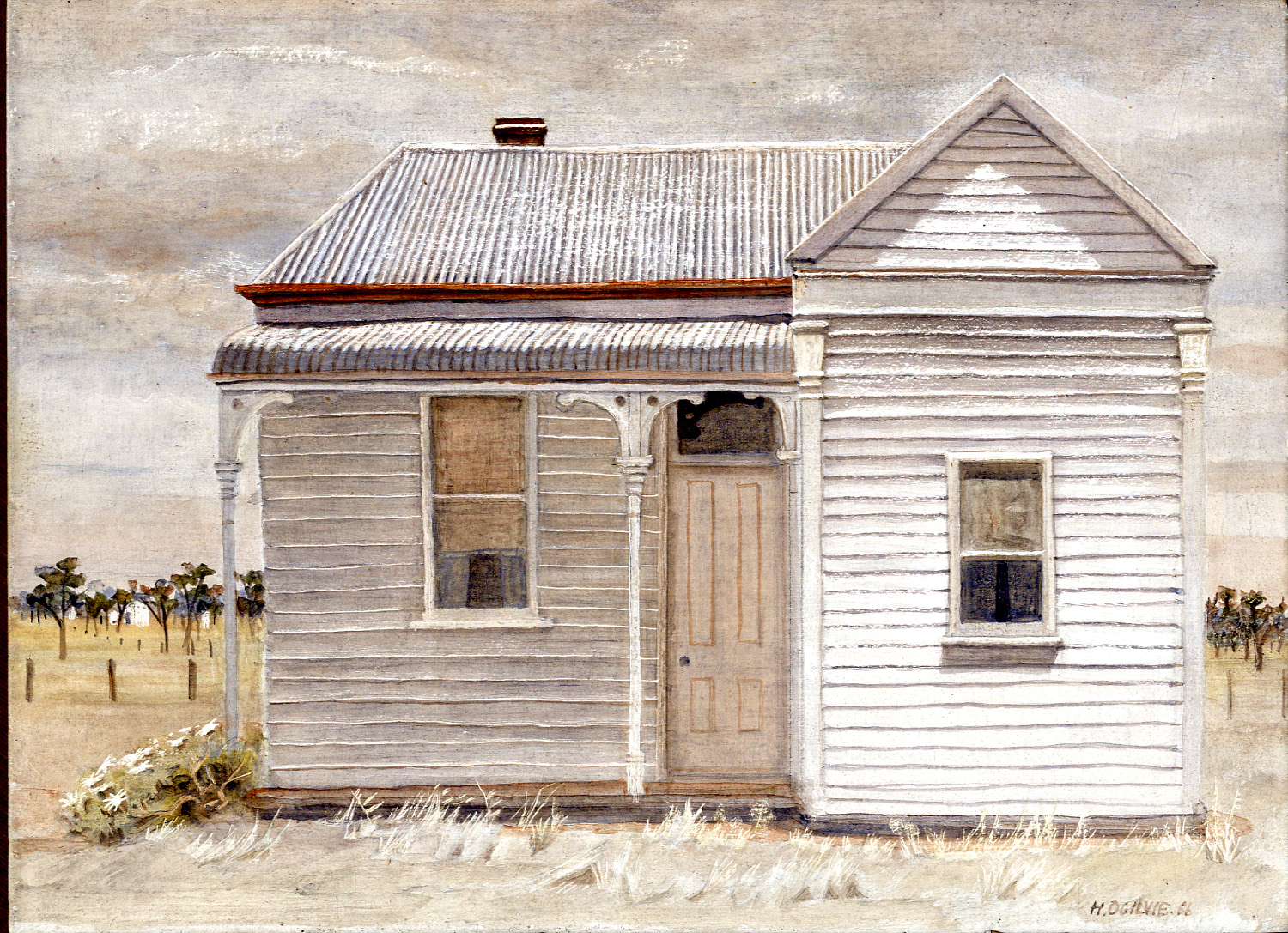 Ogilvie: Weatherboard House, Pearcedale