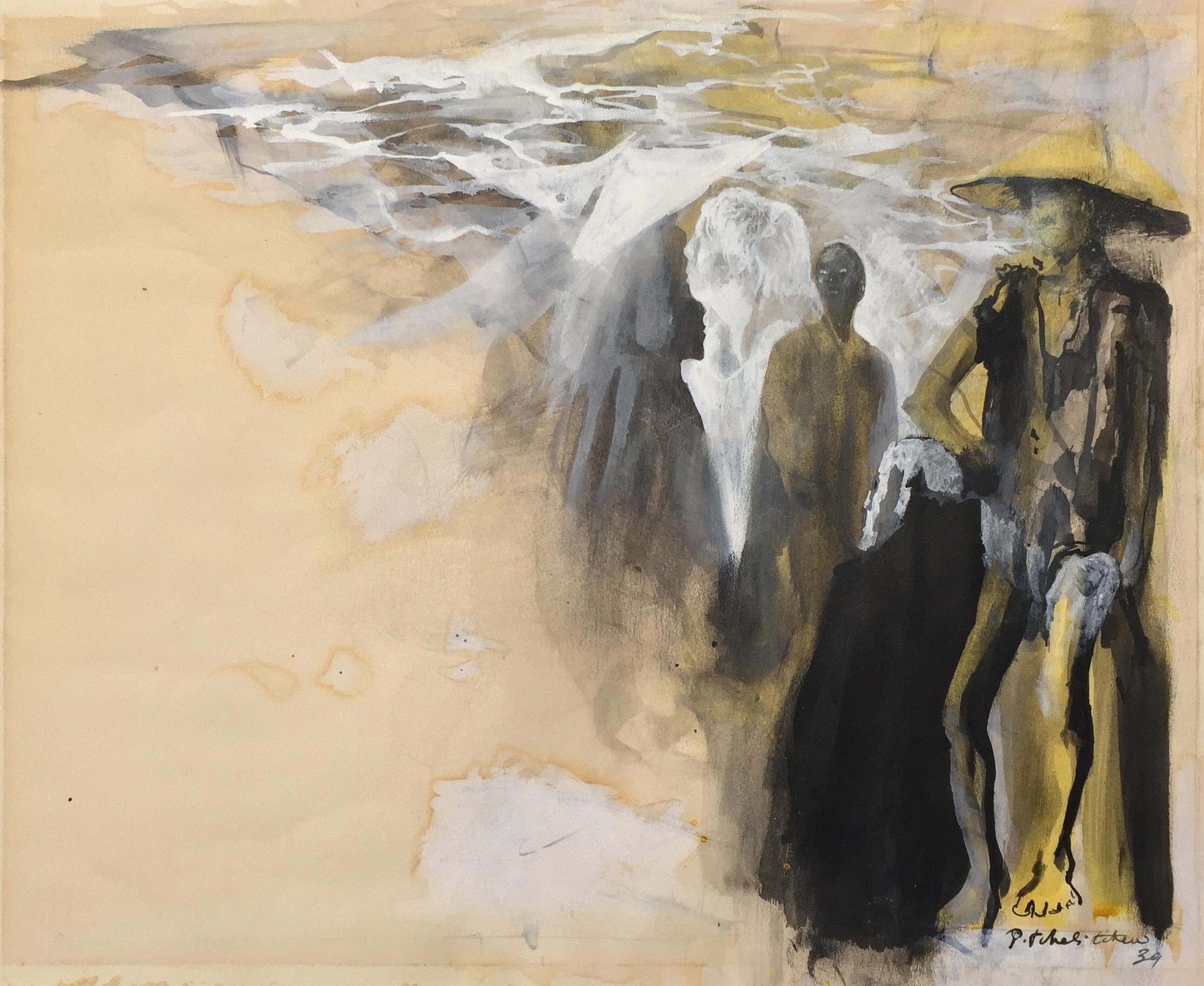Pavel Tchelitche: Eastern figures