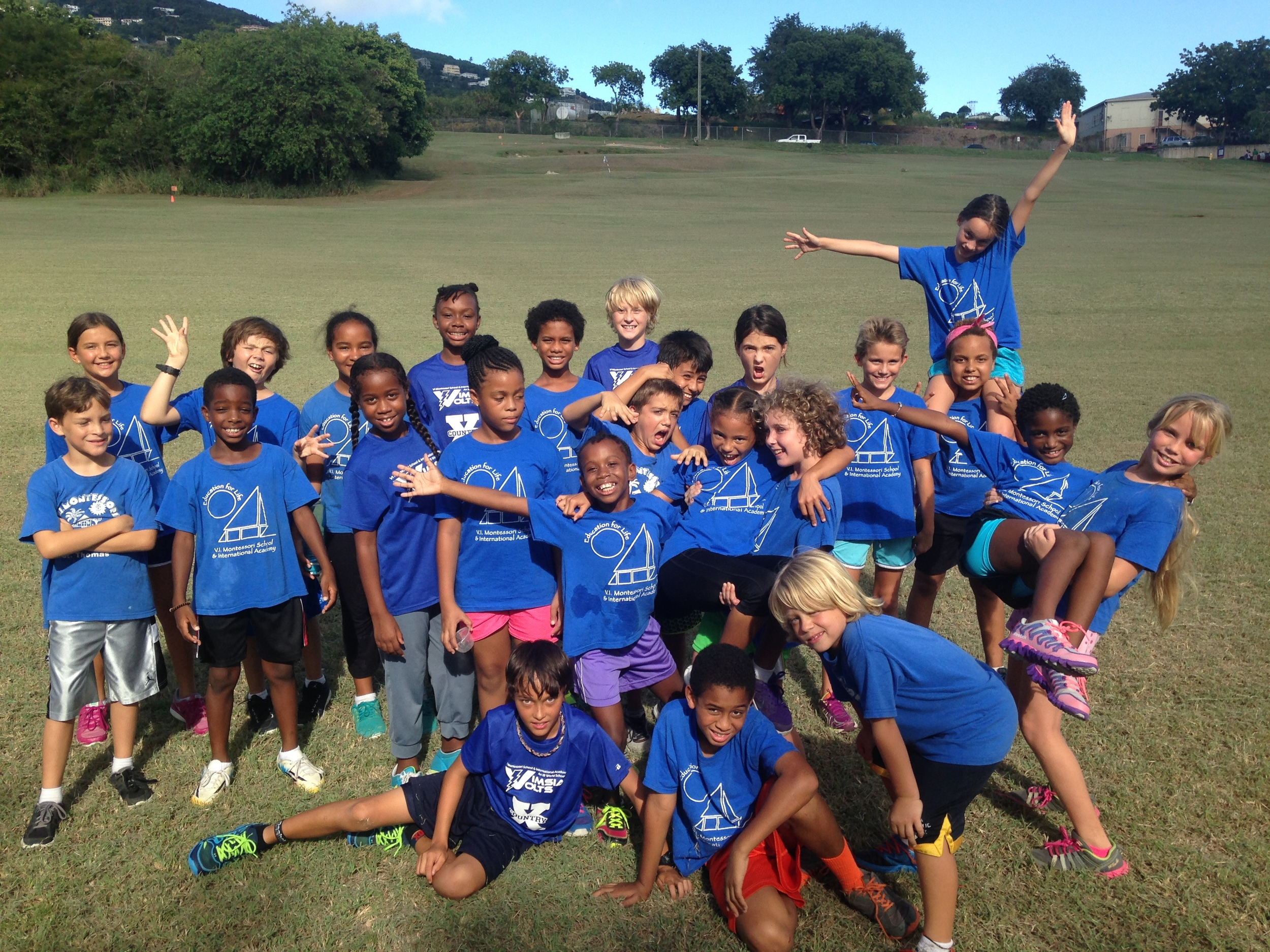 Elementary Cross Country Teams