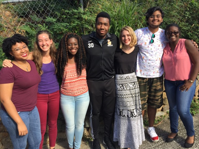 From left to right: Kendal Benjamin '17 Duquesne University, Ali Bartsch '17 Stanford University, Kayla Rivers '17 Seton Hall University, CJ Fahie '16 Indiana Tech University, Kiyalyn Bump Dalhousie University '16, Aneesh Chandiramani '17 Clark University and Leah Trotman '17 Agnes Scott College   Not pictured: Abraham Hamed '16 Valencia College, Christina Brett '17 University of Tampa and Eyad Hamed '17 Valencia College