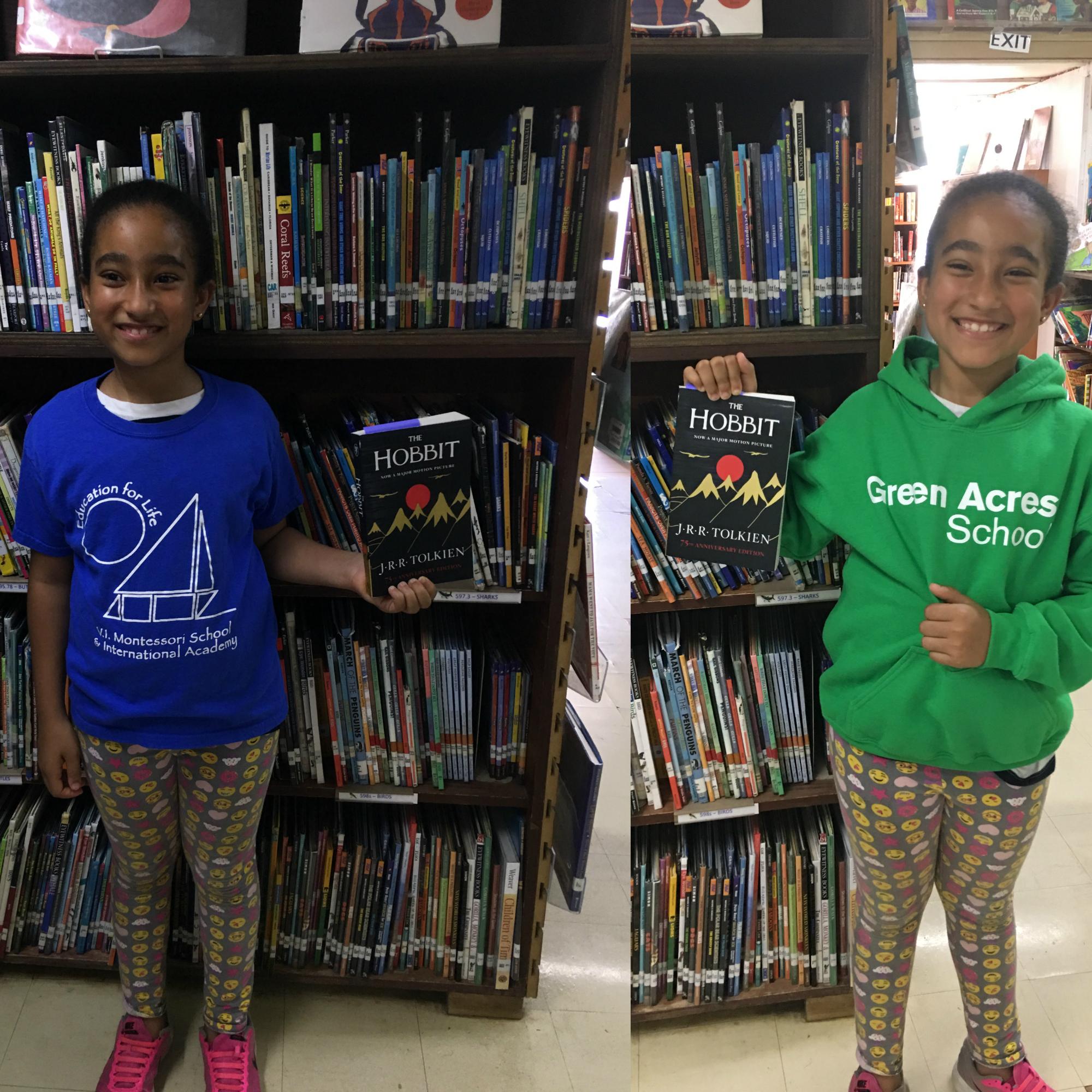Lexi Harris representing both VIMSIA and Green Acres School