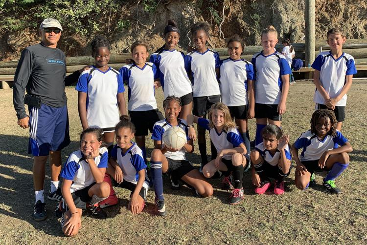 St. Thomas Elementary Girls Soccer Champs