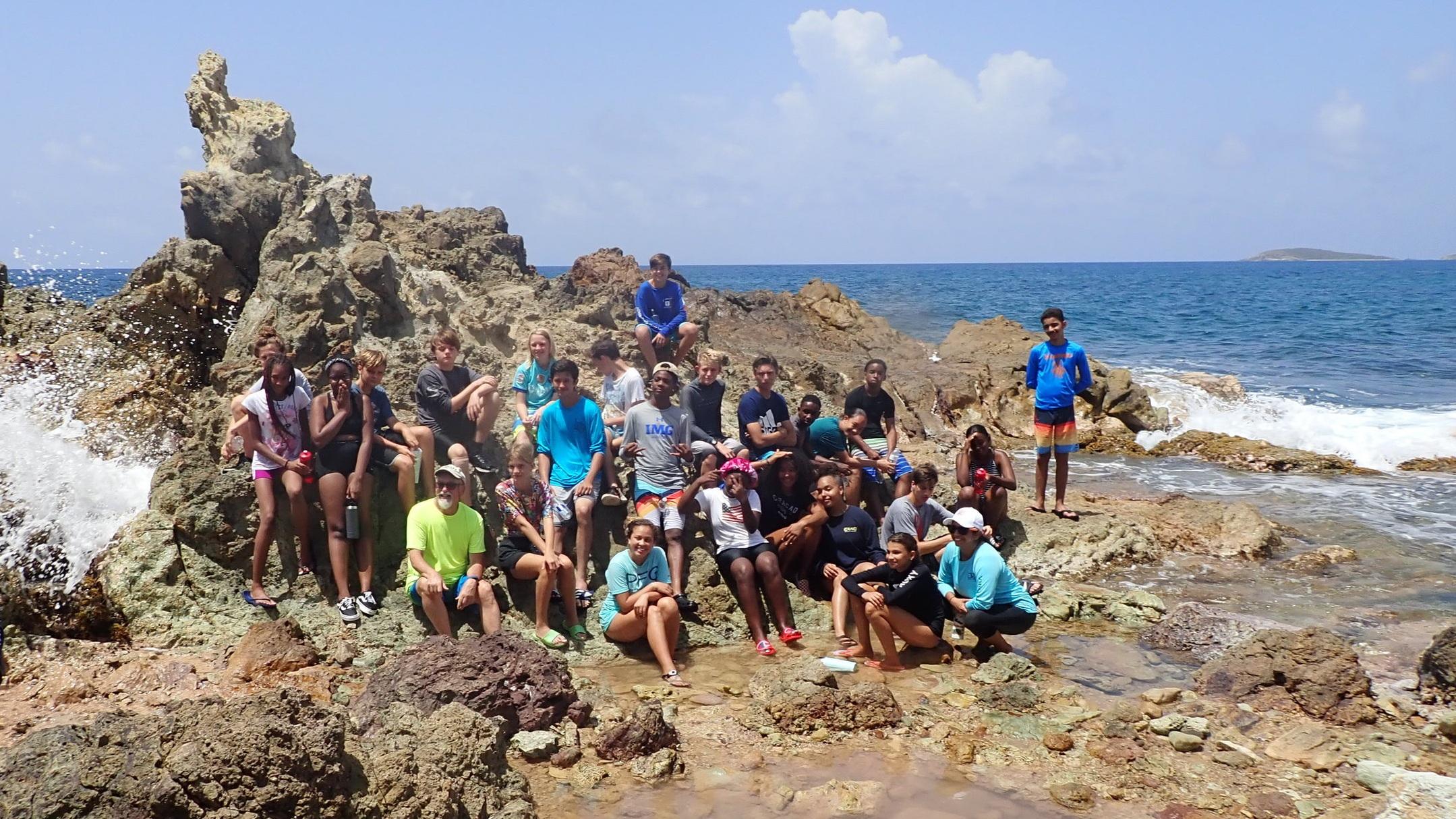 End Session students enjoy VI Eco Tours on St. Thomas