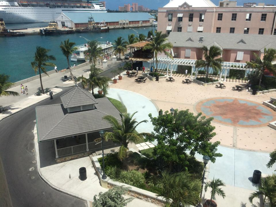 The widely acclaimed Pompey Square in Downtown Nassau which will be transformed into the CN Market opening at the end of September