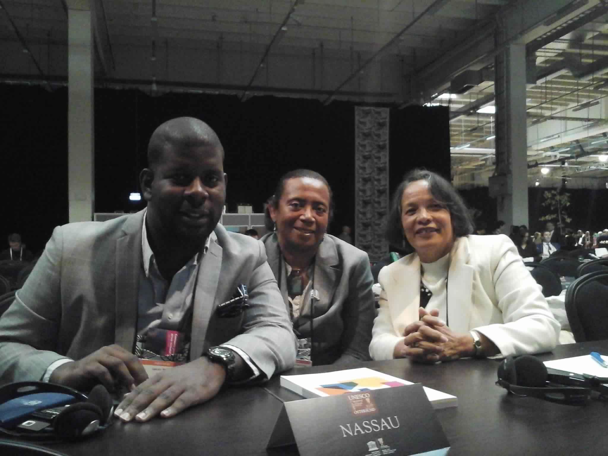 Nassau delegates at the UCCN Conference.jpg