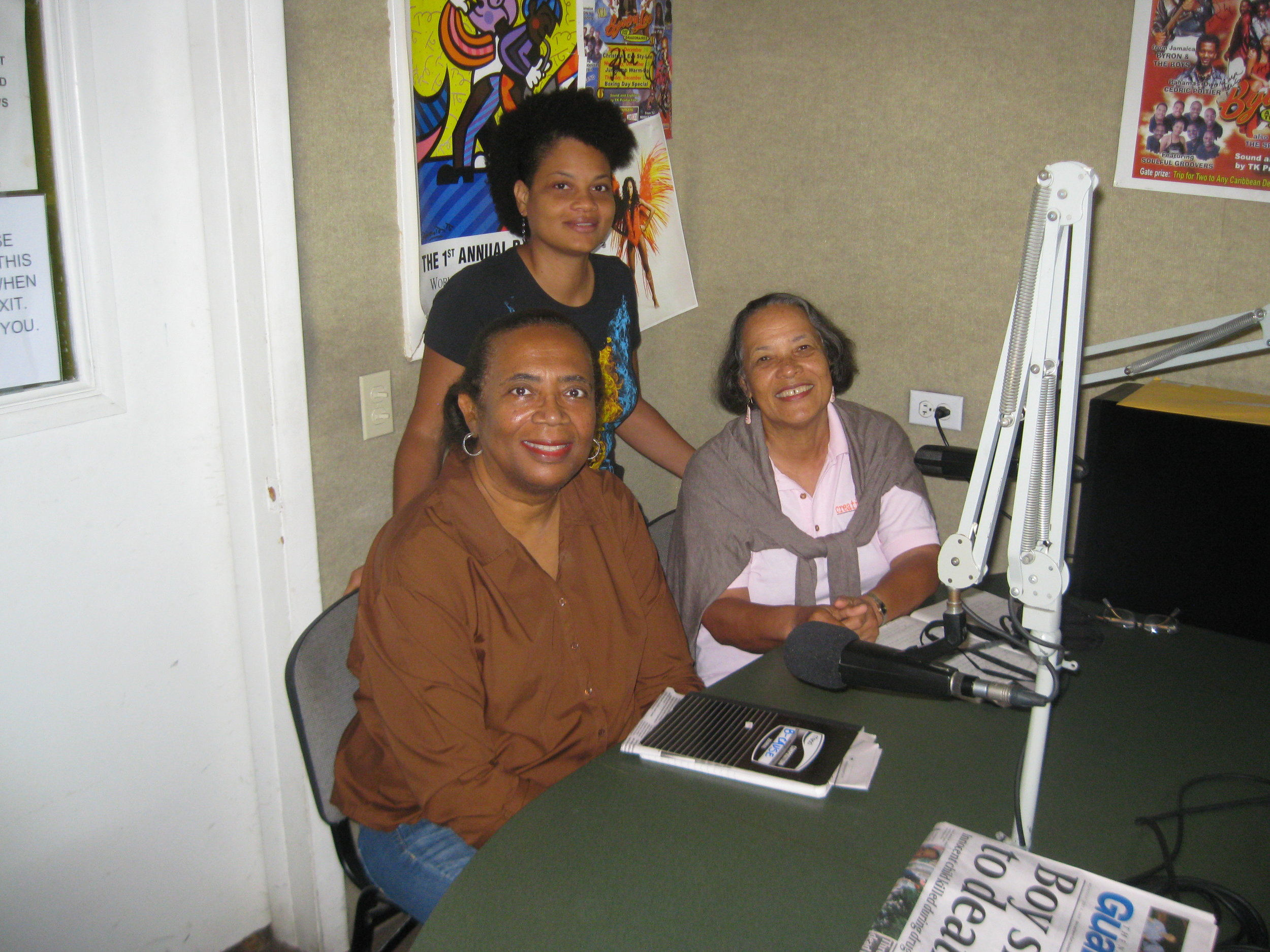 CN Radio June 12, 2018 with Terneill Burrows.JPG