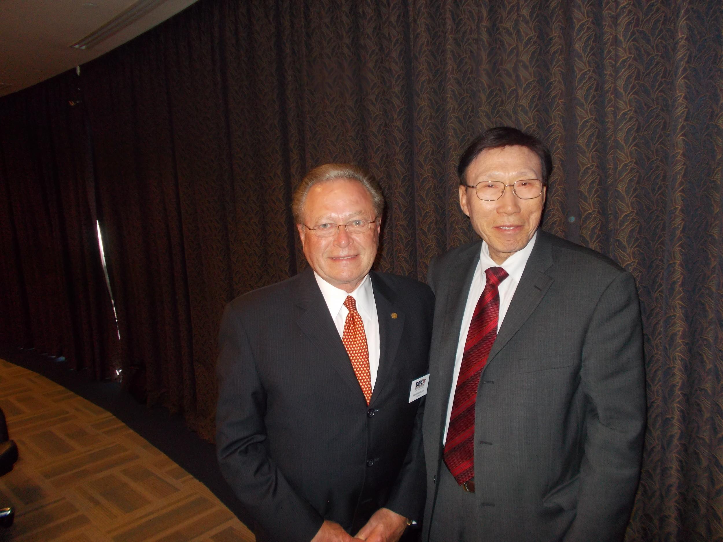 Commissioner Kim & Guy Fox