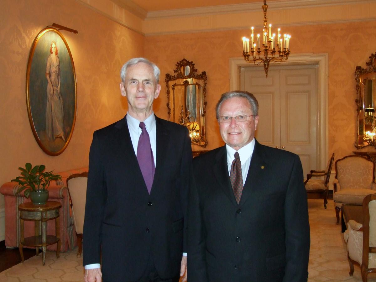 Secretary Bryson & Guy Fox