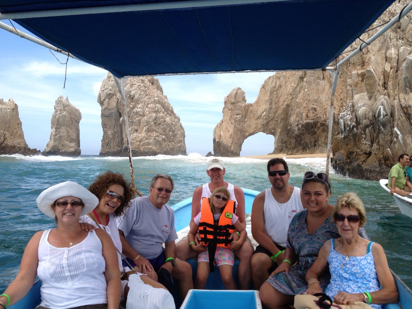 Fox family at Cabos San Lucas
