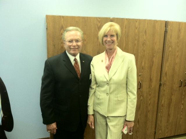 Guy Fox and Congresswoman Janice Hahn