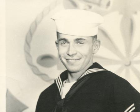 Guy Fox in the Navy